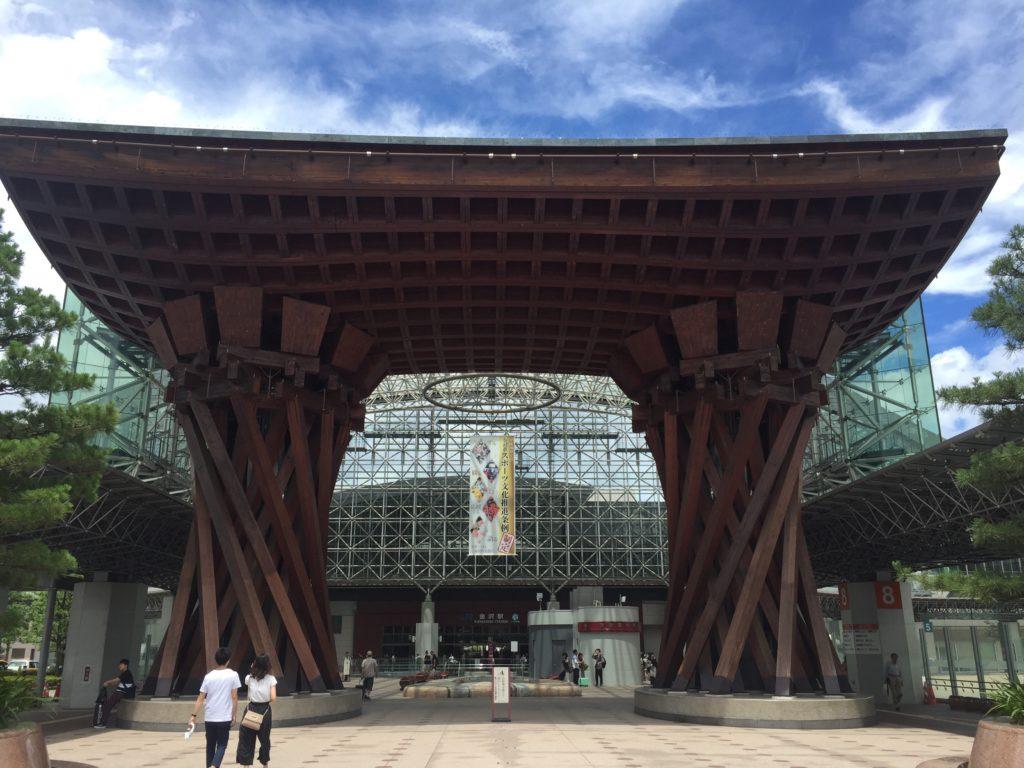 女子旅2泊3日①北陸新幹線で金沢~近江町市場とひがし茶屋街