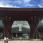 女子旅2泊3日、1日目前編。北陸新幹線で金沢、近江町市場へ。