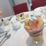 『タカノフルーツパーラー 新宿高島屋店』並んでも食べたい桃パフェ