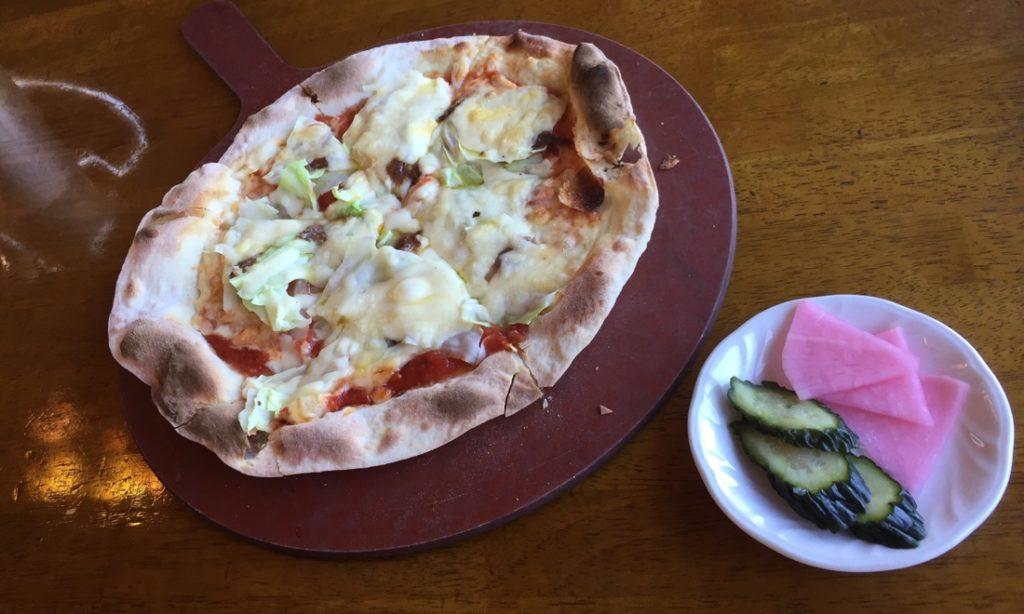 『嬬恋高原ブルワリーレストラン』北軽井沢で薄焼きピッツアと熱々ポテト