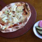 北軽井沢『嬬恋高原ブルワリーレストラン』薄焼きピッツアと熱々ポテト