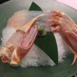 三国温泉『あらや』海の見える料理民宿、かに三昧の贅沢コース
