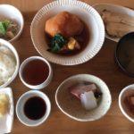 三国温泉『海のレストラン おおとく』水平線を眺めながら