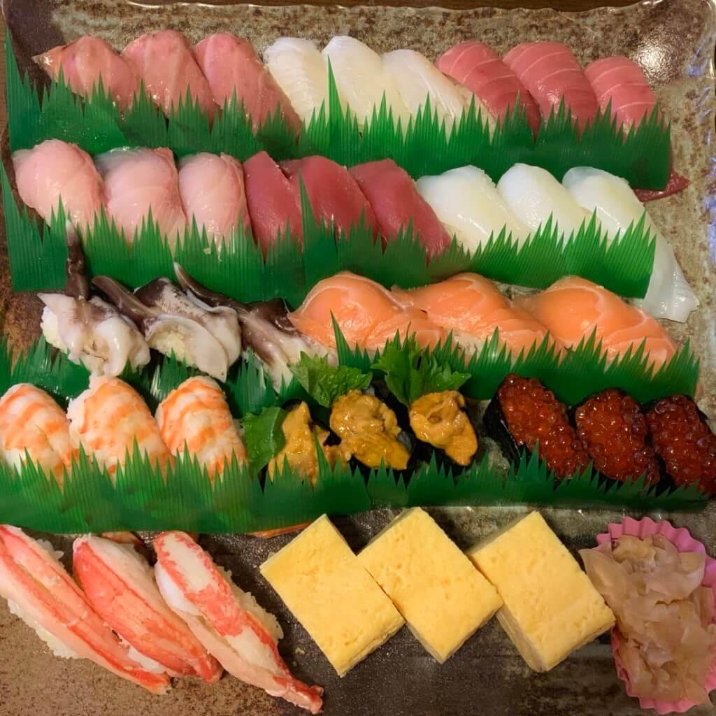 『すし銚子丸 南柏店』年末年始限定お持ち帰り寿司で感謝券ゲット♪