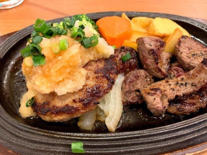 おおたかの森『ビストロ クレアンテ』ステーキと洋食とサラダバー