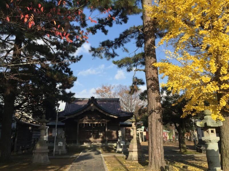 福井 氷川神社