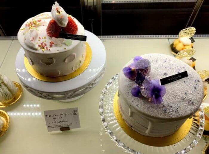 『パティスリー ボンボニエール メゾン』柏のお洒落なケーキ屋さん