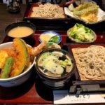 増尾『手打ちそば・みどり』揚げたてさくさく天ぷらともちもちお蕎麦