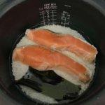 『きのう何食べた?#1』鮭の炊き込みごはんレシピと献立て