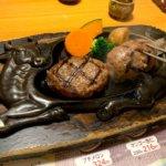 『炭焼きレストランさわやか浜松鴨江店』げんこつハンバーグ!オニオンソースがたまらん
