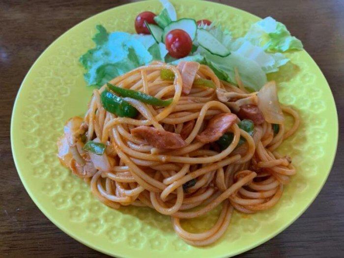 『きのう何食べた?#9』ナポリタンときのことツナとかぶの葉の和風パスタのレシピ