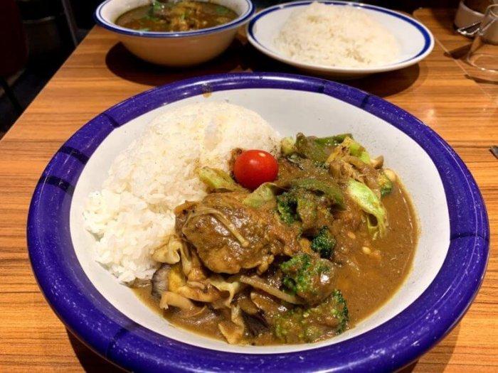 『カリー&キッチン エチオピア』神田で人気のインド風カリーライス