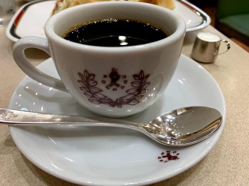 コンパルのホットコーヒー
