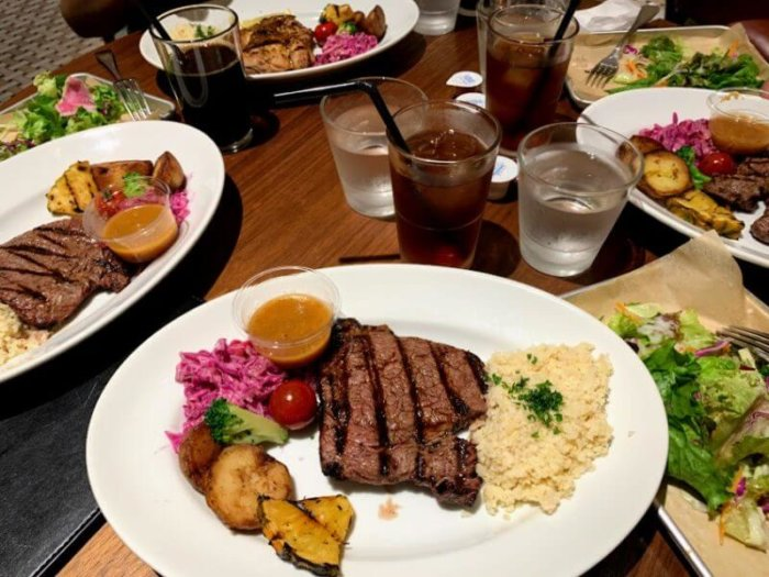 『HIBIYA FOOD HALL(ヒビヤフードホール)』駅ちか便利でおしゃれなカジュアルレストラン!東京ミッドタウン日比谷