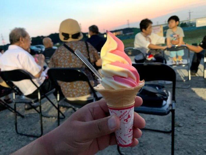 『野菜レストラン SHONAN』で手賀沼花火大会を優雅に鑑賞