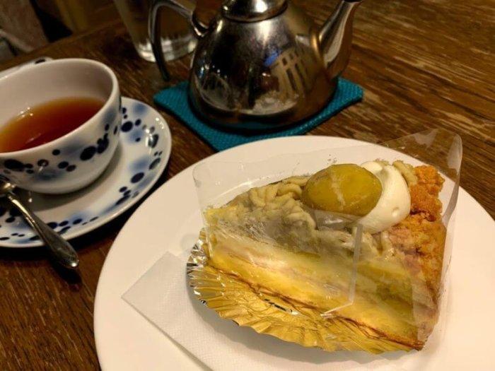 吉祥寺『ラ・クール・カフェ (La cour cafe)』季節のケーキでまったりカフェタイム