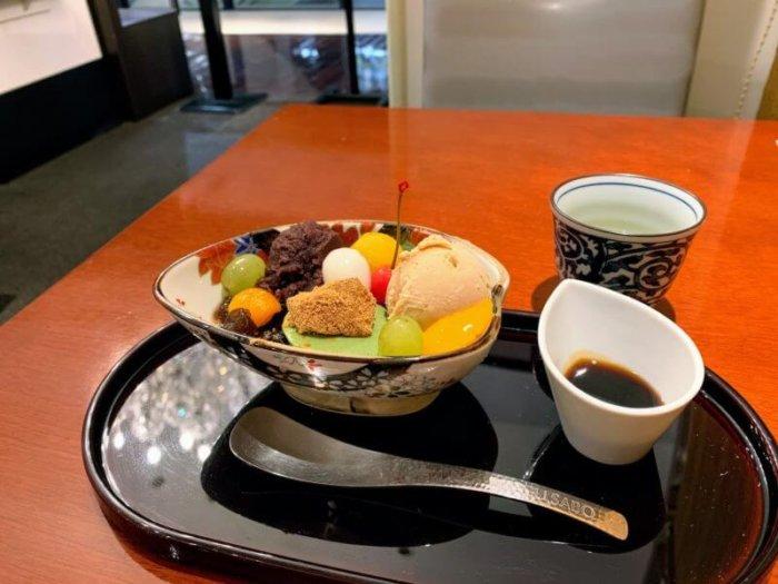 『麻布茶房 柏髙島屋ステーションモール店』お得な選べるデザートセット