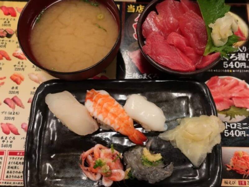 回転寿司 のぶちゃん