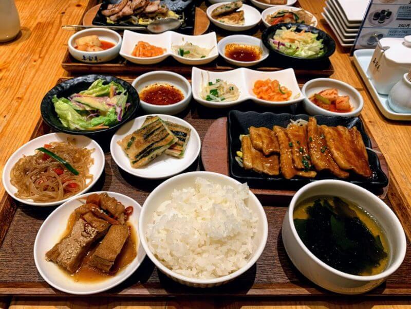韓国ごはんパプサン