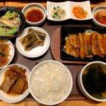『韓国ごはんパプサン 柏』韓国料理の定番メニューを定食で