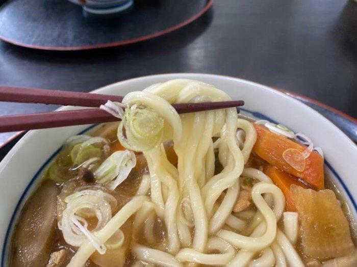 道の駅 みわ 『レストラン 北斗庵』で熱々けんちんうどん