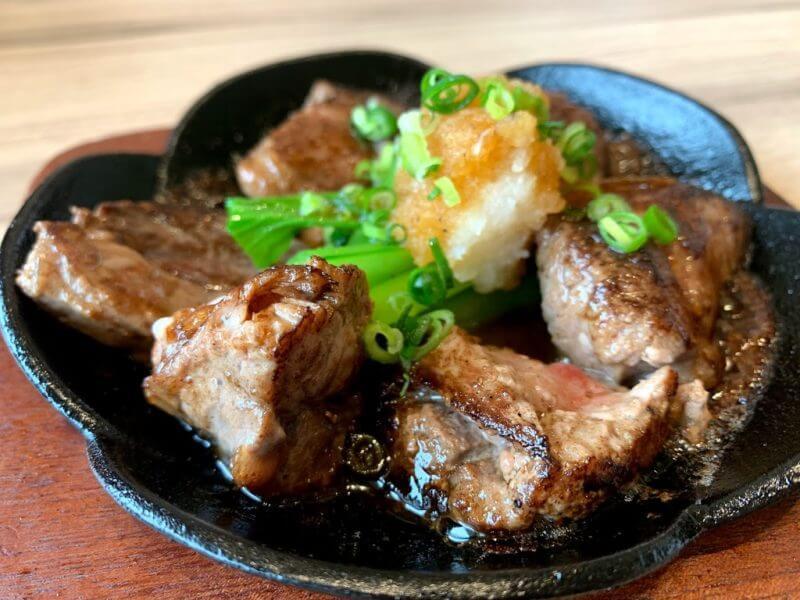 鮪ほほ肉のカットステーキ