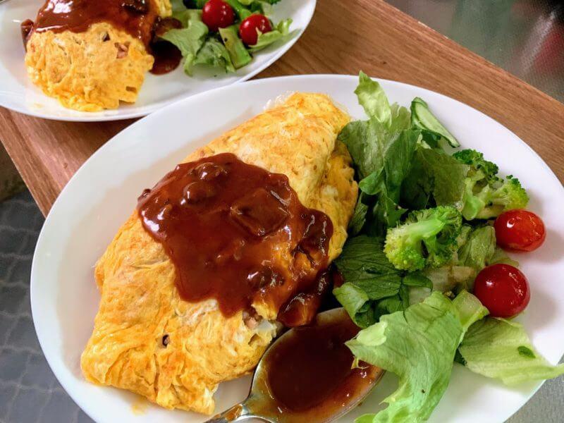 『オムライスレシピ』コープデリの食材を使って簡単おうちランチ