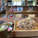 『おたり名産館』長野県おたり村、素朴な味と香りの田舎そば