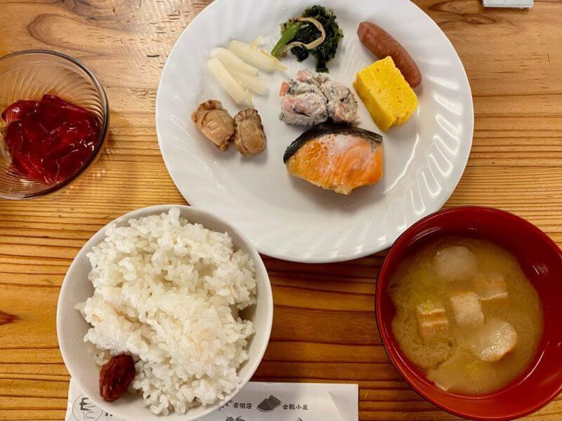 燕山荘 食事