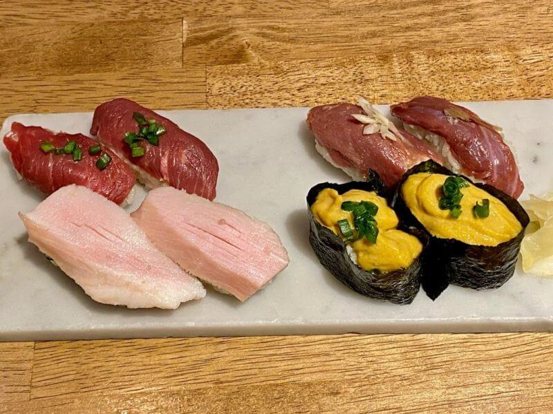 柏 肉寿司