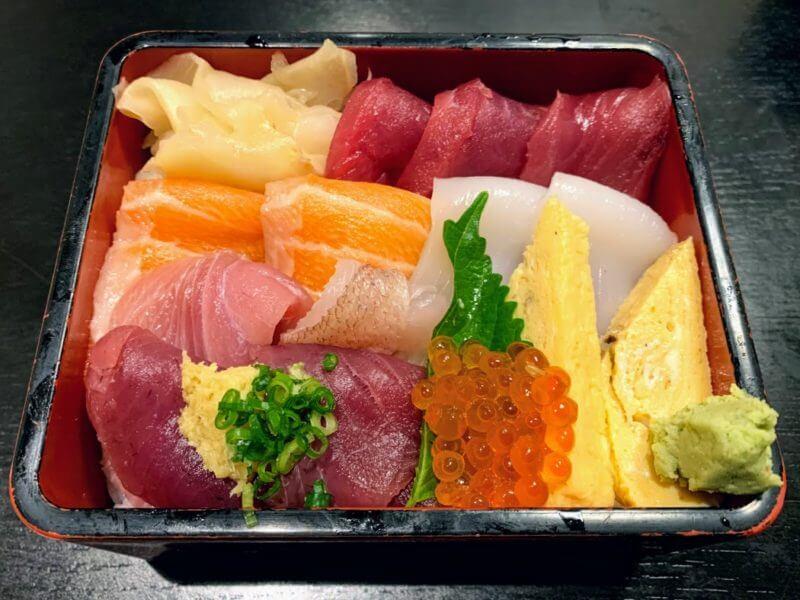 『和食会席 漁師の里』柏の葉キャンパスで寿司ランチ