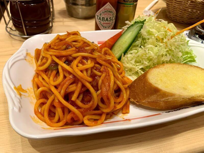 コメダ珈琲店 ナポリタン