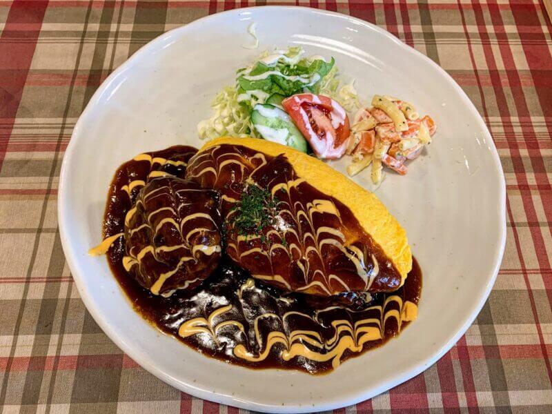 『洋食屋 花きゃべつ・水戸』納豆ハヤシオムライスが人気の洋食屋さん