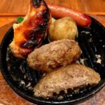 『いしがまやハンバーグ セブンパークアリオ柏店』ふんわり肉汁じゅわ~っと焼きたてハンバーグ