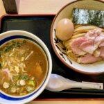 『大勝軒 てつ・柏』たっぷり野菜のみそつけ麺とソースチャーハン
