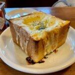 『ジロー珈琲 豊四季店』熱々っ!チーズとろけるグラタントースト