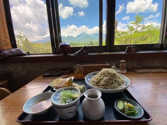 『レストラン 最高地点 (さいこうちてん)』長野県で味わう山の景色と信州蕎麦