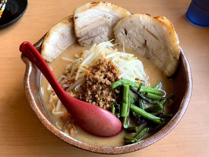『麺場 龍吟・柏』北海道と信州の味噌ラーメンを食べくらべ