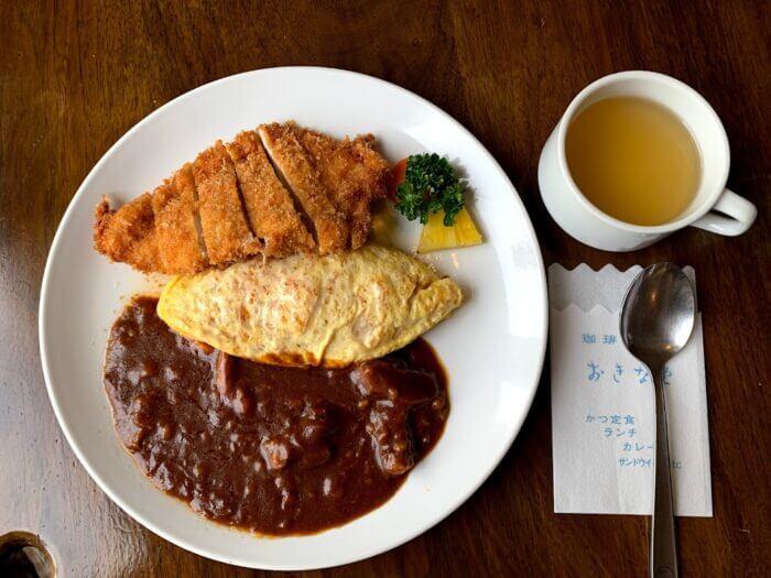 『おきな堂』松本で人気!老舗の洋食屋さんのオムライス