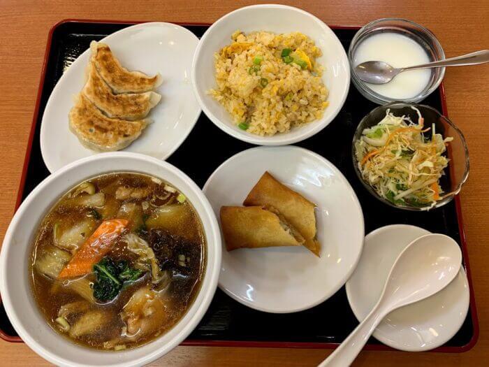 『松戸飯店』選べるお得な定食メニューが豊富な中華屋さん