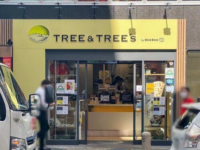 TREE&TREE's by DOMDOM 新橋店(ツリー&ツリーズ)